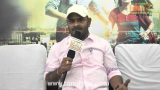 Director Bharathan at Athithi Movie Team Interview