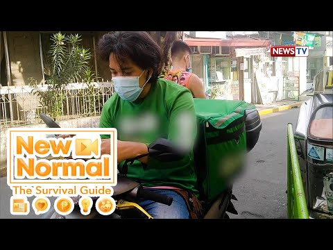 [GMA]  Family Time: Delivery rider, isinasabay ang pag-aaral sa trabaho! | New Normal
