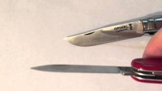 Opinel no 07 compared to victorinox small tinker