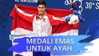 Edgar Marvelo Raih Medali Emas di SEA Games 2019 saat Ayah Meninggal