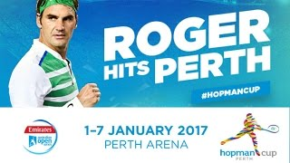 Looking forward to playing The Hopman Cup in Western Australia HopmanCup justano