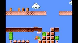 スーパーマリオ2 超高速無限1UPの裏技画像