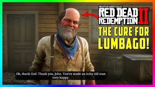 This SECRET Mission Gets Uncle A Cure For His LUMBAGO In Red Dead Redemption 2! (RDR2 Lumbago Cure)
