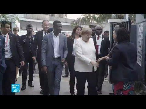 العرب اليوم - شاهد: أقوى امرأتان في أوروبا تقومان بزيارتان في القارة الأفريقية