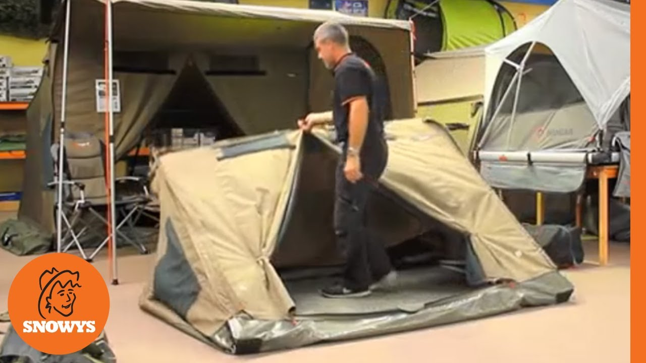 RV3 Canvas Touring Tent