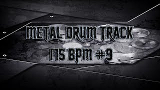 In Your Face Metal Drum Track 175 BPM | Preset 2.0 (HQ,HD)