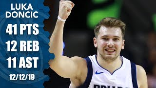 Luka Doncic shines with 41-point triple-double in Mexico City | 2019-20 NBA Highlights