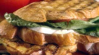 How To Make Giada De Laurentiis Perfect Panini Sandwich   Food Network