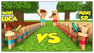 MINI-LUCA CONTRO MINI-SPJOCKEY! - Minecraft ITA