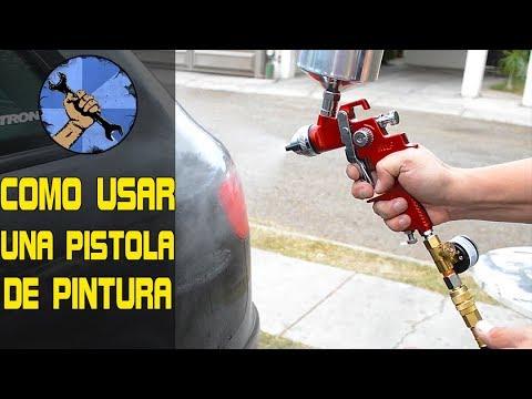 COMO PINTAR EL AUTO P2: COMO USAR LA PISTOLA