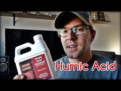 My First Taste Of Humic Acid For The Lawn