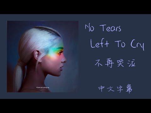 No Tears Left To Cry【不再哭泣】Ariana Grande 中文字幕
