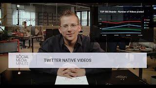 Social Media Minute: Twitter Native Video vs YouTube Links