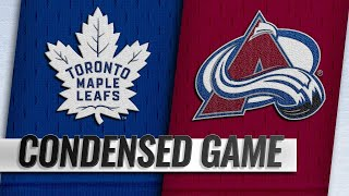 02/12/19 Condensed Game: Maple Leafs @ Avalanche
