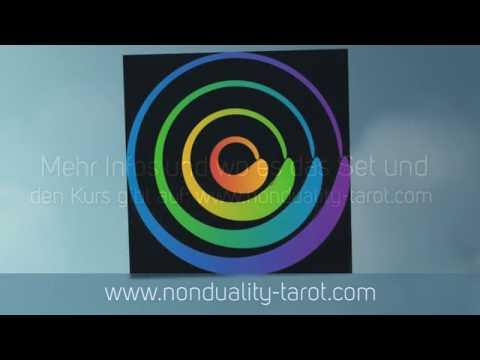 Non-Duality Tarot-Set & Kurs die ersten 22 Karten