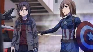 If Captain America: Civil War Was Anime