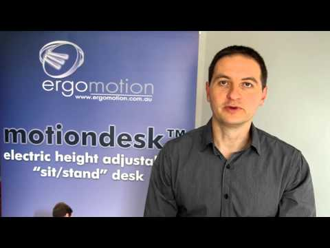 motiondesk2-DL11 (electric height adjustable sit to stand desk