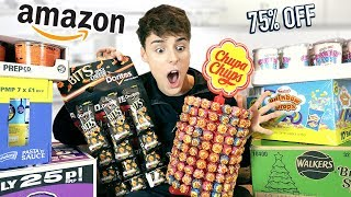 i only ate amazon BLACK FRIDAY foods for 24 hours