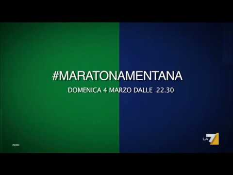 #MaratonaMentana, domenica 4 marzo dalle 22:30