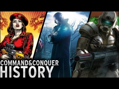 History of - Command and Conquer (1995-2013)