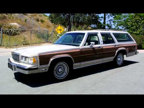 1990 Mercury Grand Marquis Colony Park Station Wagon