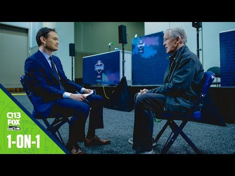 Pete Carroll Interview at the 2020 NFL Scouting Combine   Q13 FOX Interview