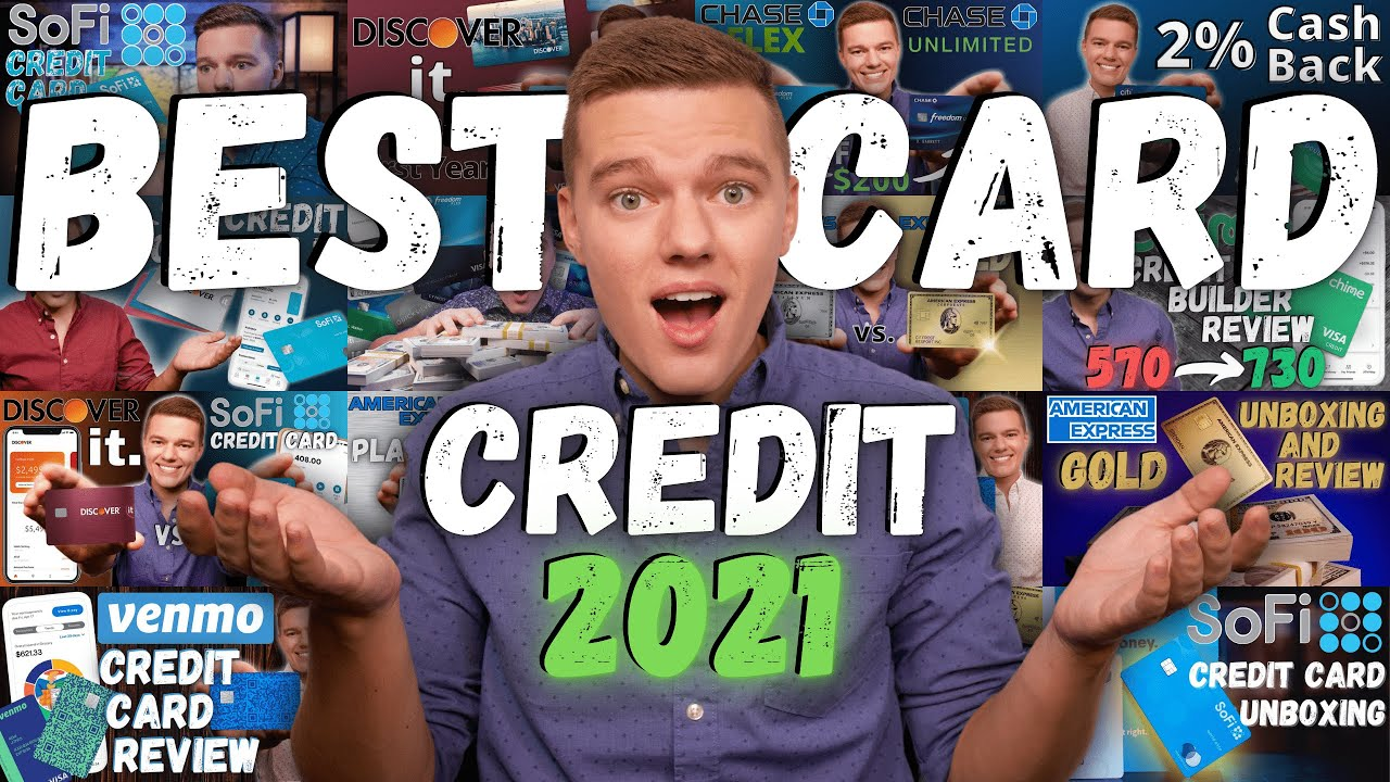 Leading 5 BEST Credit Cards of 2021 thumbnail