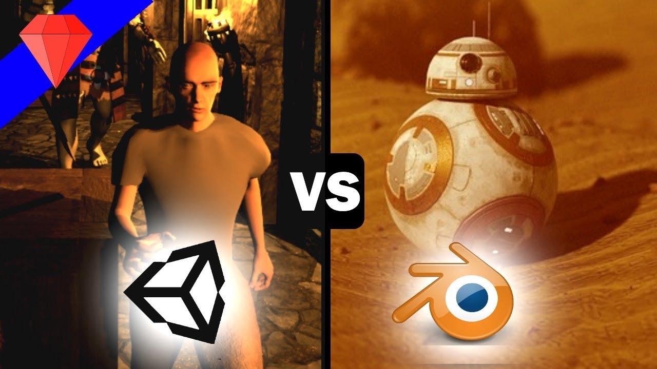 Unity vs Blender   Graphics, Game Engine Comparison