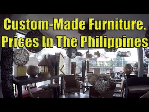 Custom Made Furniture. Prices In The Philippines.
