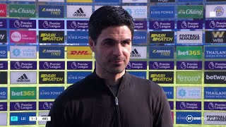 """""""The senior players need to drive the boat!"""" Mikel Arteta delighted with Arsenal win at Leicester"""