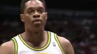 Biggest upset in NBA history 1994 game 5 Nuggets at Supersonics