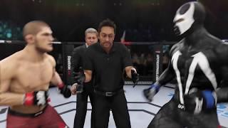 Khabib Nurmagamedov vs. Spawn (EA sports UFC 3) - CPU vs. CPU