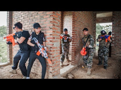 LTT Nerf War : SEAL X Special Mission Use Skill Nerf Guns Battle Attack Criminal Group 2