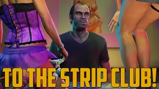 TO THE STRIP CLUB! (Grand Theft Auto V - First Person Next Gen)