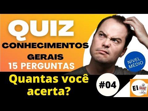 DESAFIO QUIZ DE CONHECIMENTOS GERAIS   NVEL MDIO #4