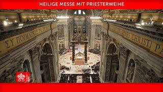 25. April 2021, Heilige Messe mit Priesterweihe - Homilie, Papst Franziskus