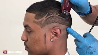How To Do A Hair Design - *MUST SEE HAIR TRANSFORMATION* By Bestest Barber