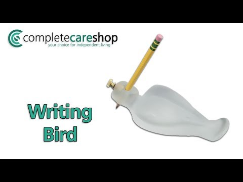 Ergonomically Shaped Writing Aid