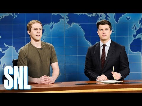 Weekend Update: Mark Zuckerberg on Cambridge Analytica - SNL