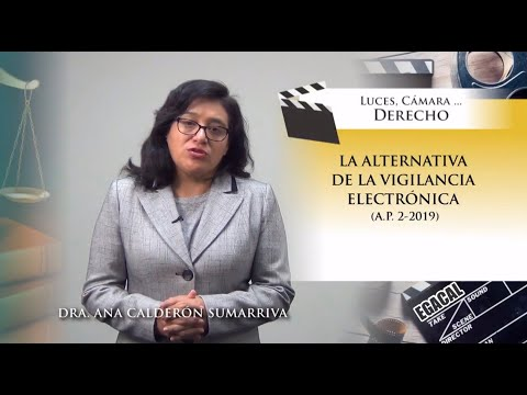 LA ALTERNATIVA DE LA VIGILANCIA ELECTRÓNICA - Luces Cámara Derecho 147 - EGACAL