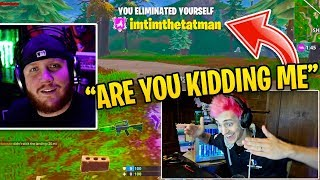 """Ninja Reacts to """"TimTheTatman Most Viewed Clips of ALL TIME!"""""""