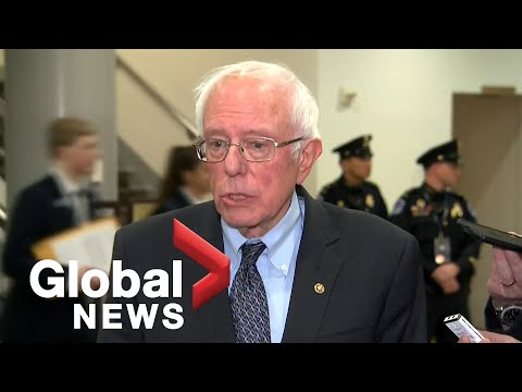 """Bernie Sanders on Trump impeachment: """"No President can be above the law"""""""
