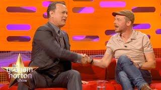 Tom Hanks & Simon Pegg Geek Out Over Star Trek   The Graham Norton Show