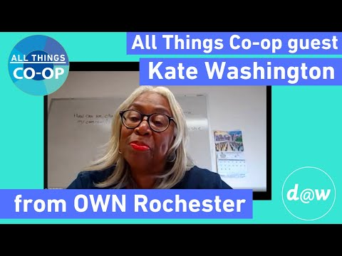 ESOPs vs worker co-ops: tailoring the model for the need - Kate Washington [All Things Co-op CLIP]