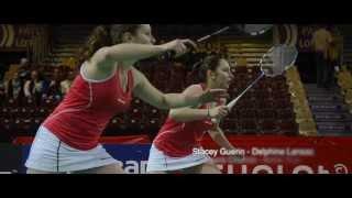 preview picture of video 'Badminton - Championnats de France 2014 - Cholet #2'