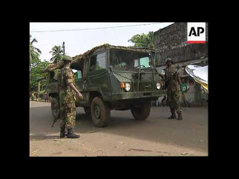 LIBERIA: MONROVIA: HORRIFIC SCENES AS FIGHTING FLARES UP AGAIN
