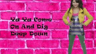Zendaya - Dig Down Deeper Lyrics