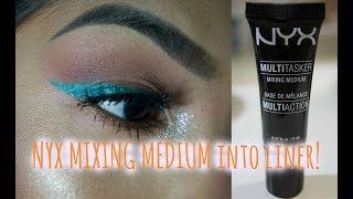 BEST MIXING MEDIUM! | Turn a PIGMENT into LINER!