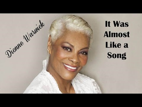 It Was Almost Like a Song   Dionne Warwick  (TRADUÇÃO) HD (Lyrics Video)