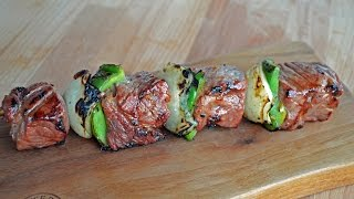 RIBEYE STEAK KABOBS - How To - By Customgrills